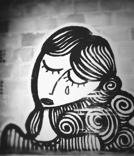 Blackandwhite Street Art Graffiti