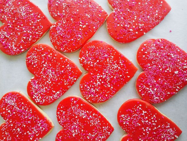 Cookies Bakery Valentine's Day  Hearts