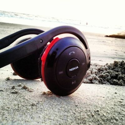Sea Headphones Bluetooth I9003 beach