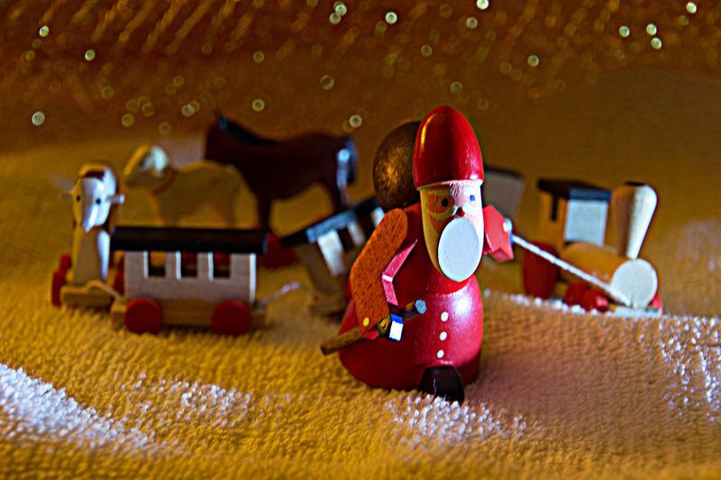 Decoration Figurine  Gift Train Indoors  No People Sand Weihnachten Weihnachtszeit Wooden Decoration Wooden Toys X-mas