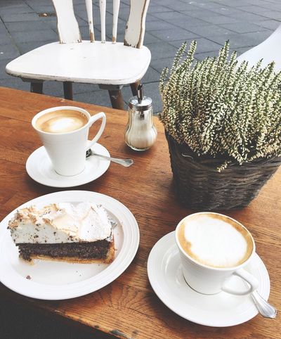 Kaffee und Kuchen 🍰☕️ Food And Drink Coffee Cup Still Life Cake Sunday