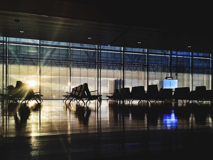 So cool! I Love the Design of the Stockholm-arlanda Airport (arn) ! Interior Design IPhoneography Airport Taking Photos Sunset Silhouettes Shadows