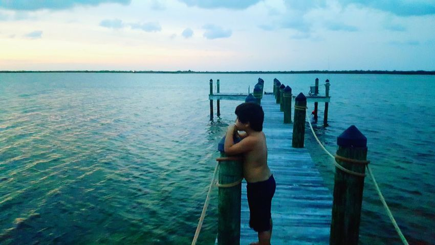 Sea Water Real People Outdoors One Person Scenics Beauty In Nature Horizon Over Water Gulf Of Mexico Florida Skies Florida Life Beauty In Nature Live For The Story The Great Outdoors - 2017 EyeEm Awards Investing In Quality Of Life
