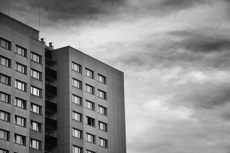 Skyscraper in Berlin, Germany. Architecture Architecture B&w Black & White Black And White Black&white Blackandwhite Built Structure City City City Life City Skyline City Street Citylife Cityscape Cityscapes Daylight Evening Sky Modern Moody Sky Outdoor Outdoors Sky Sky And Clouds Windows