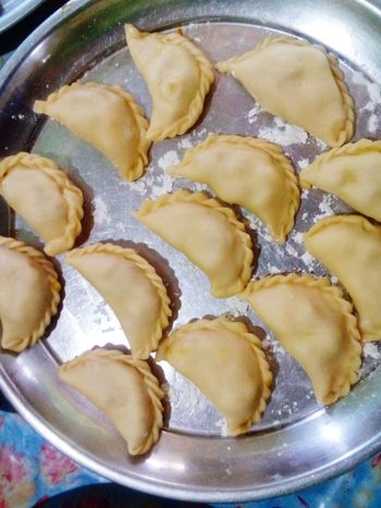 Karipap in the making. Hungryyy.. Karipap Malaysian Food Foodlover