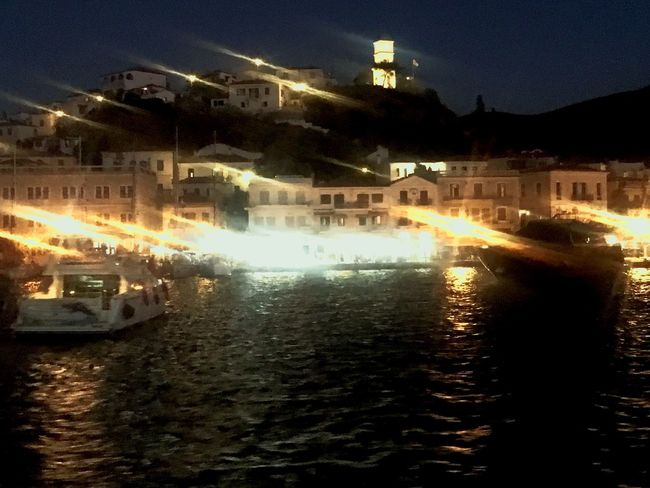 Taking Photos Poros Summer Days Vacation Time Greece Summer ☀ Night Lights Nightphotography