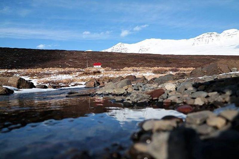 Easticeland Norðfjörður Landscape Bluesky Nature Waterreflection Sky Mountain Beautifulnature