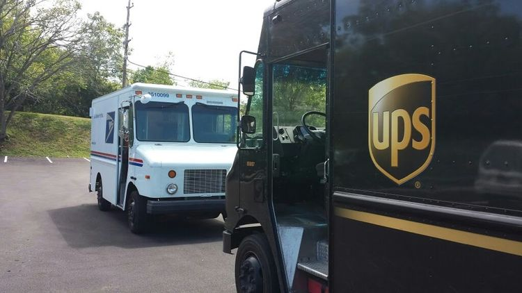 Work... UPS all the way Land Vehicle
