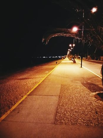 Just walk under these lights in Kalamata and you will feel the magic