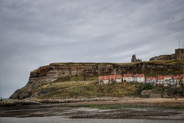 Whitby Whitby Whitby Abbey Built Structure Architecture Building Exterior Sky Cloud - Sky Building Nature Mountain No People Land Day Scenics - Nature History Outdoors Beauty In Nature The Past Fort Plant Travel Destinations Rock