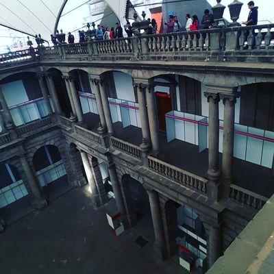 City Travel Tourism Travel Destinations Bridge - Man Made Structure Architecture Cityscape Outdoors No People Day Mexico City Palacio De Minería