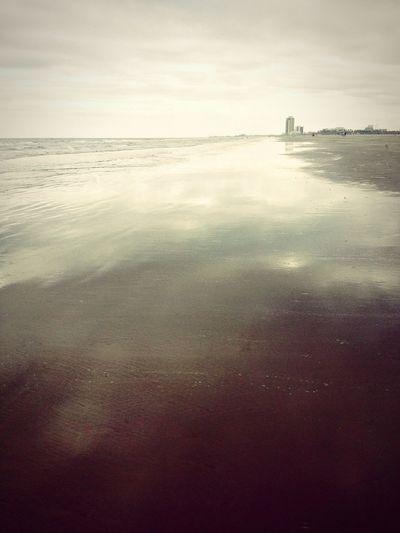 Galveston Texas Beach Sand Ocean