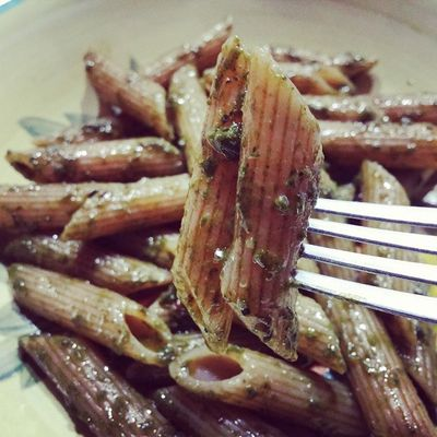 Pasta integrale con pesto casereccio di basilico Langolodelleprelibatezze Blog Cucina Ricette cibo giallozafferano