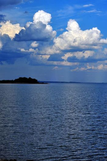Beauty In Nature Blue Cloudscape Day Dramatic Sky Non-urban Scene Scenics Sky Tranquil Scene Tranquility Water