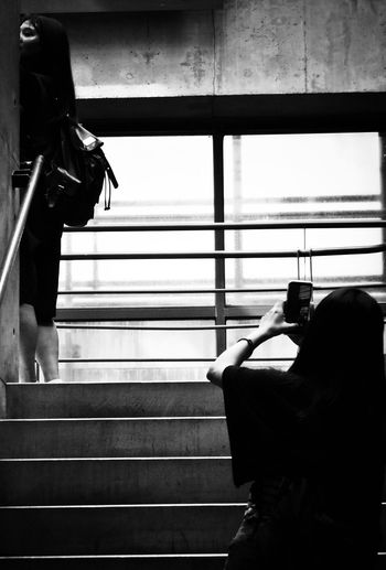 2018/7/29 速寫朋友 於鶯歌陶瓷博物館 Taiwan Museum Friendship Friend Bw Bw_lover BW_photography B&w Photo B&w Bw Photography B&w Photography Bwphotography Women Holiday Moments EyeEmNewHere