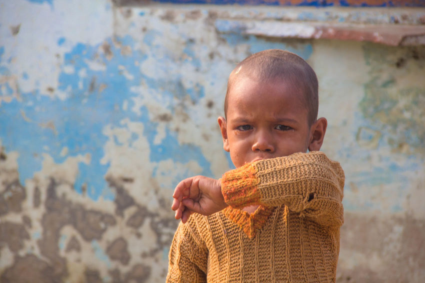 Kid crying Childhood Crying Distress Front View Innocence Lifestyles Poorpeople Real People Youth Of Today