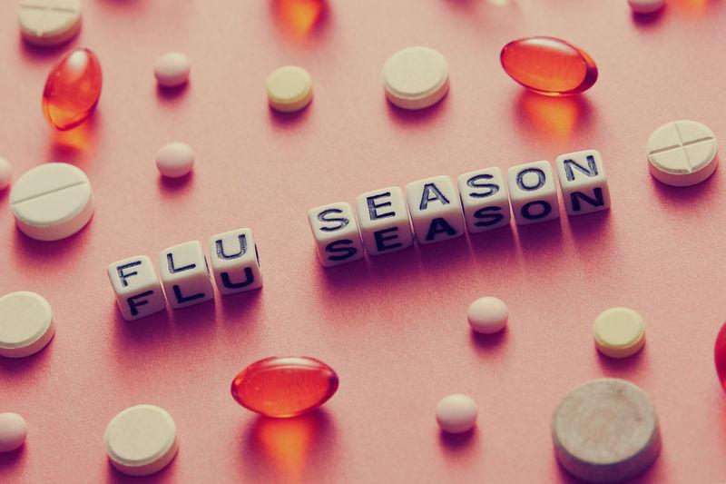 Flu season.