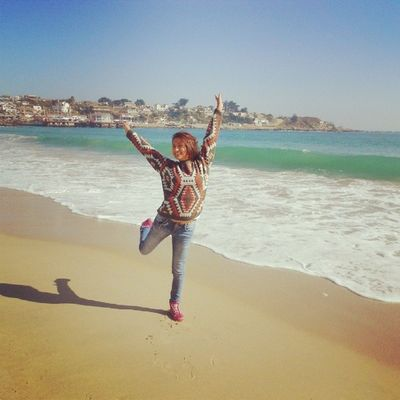 Wooow Instachile Elquiscochile Beach Playa me fun viento olas wind sunny