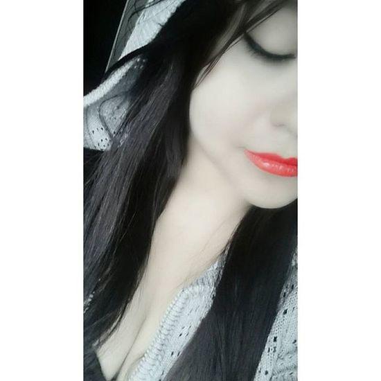 Bonita Labiosrojos Labios Blancoynegro Blackandwhite