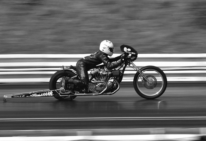 Blackandwhite Black And White Black & White Bnw EyeEm Best Shots EyeEm Best Shots - Black + White Check This Out Motorbike Motorcycle Dragracing Dragster Motorsport Speed Panning Capturing Movement