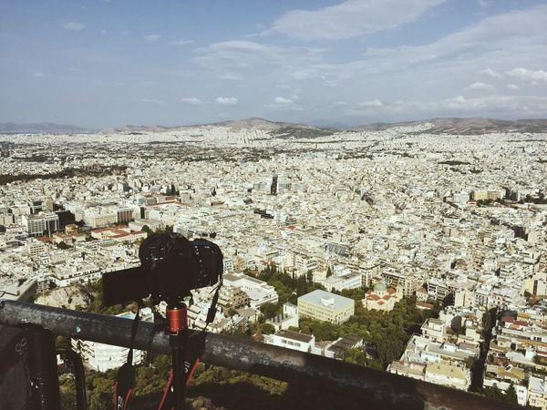 Apreciatting this nice view Acropolis, Athens Greece Athens Lycabettus Canon Timelapse EyeEm Ready