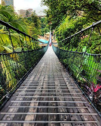 OffToTheOtherSide Sunwaylagoon Suspendedbridge Waterpark Kl Malaysia2015