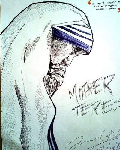 CONTACT ME FOR COVER ARTS AND BANNERS, SKETCHES. Email: lalithbhonsle2294@gmail.com Music: www.reverbnation.com/l4l17h www.soundcloud.com/l4l17h Sketch Art Mothertheresa Peace Freedom Unity Liberty Love Nohate Allforone Preach Mother Care Silence Philanthropy White Blue Black Penart Ballpenart Quicksketch Inspirational LALITHSGALLERY Inktober The_enchanted_art