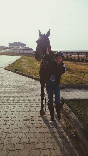 So happy!!! Happy Horse <3 Horseriding Love♥