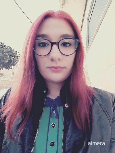 Relaxing Glasses Make Up Selfie Fashion Tumblr Lipstick Tumblrgirl Fashiongirl  Girltumblr