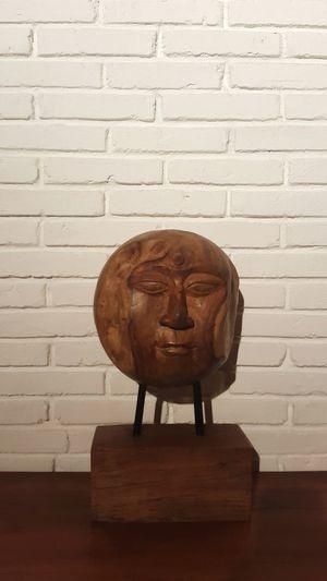 Art Art Piece Wood Sculpture Showcase March Brick Wall Bricks Wooden Sculpture Wooden Desk Wooden Decoration Decoration Home Is Where The Art Is
