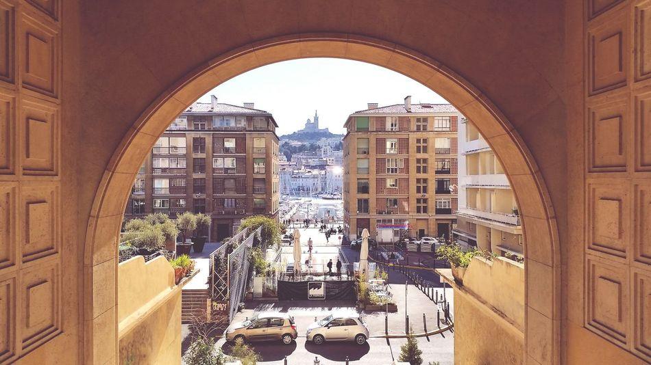 Massilia! Vieux Port Marseille Bonne Mere Street First Eyeem Photo