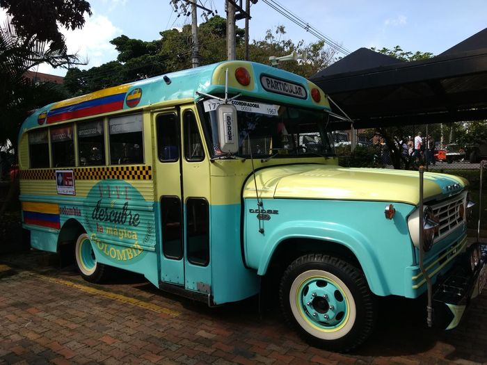 Old Old Bus Vintage Cars Vintage Bus Colors Colorfull Bus