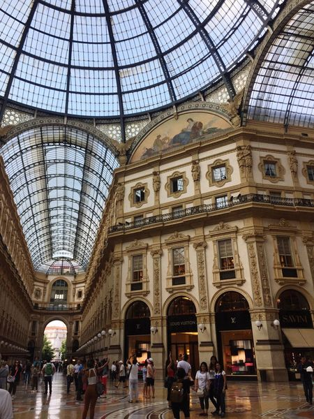 Piazza Del Duomo Travel Photography Tourist Attraction  Amazing Architecture Milanocity Randomshot Traveller June 2016 Milano Milan,Italy upload in Sabah Borneo Crowd Feel The Journey Original Experiences Fine Art Photography