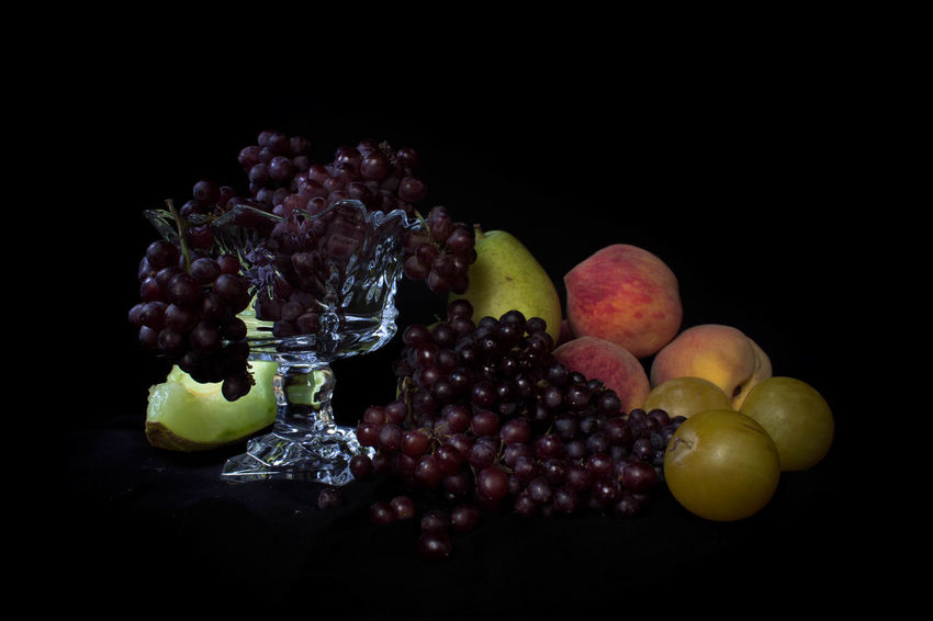 Berry Fruit Black Background Choice Close-up Copy Space Cut Out Food Food And Drink Freshness Fruit Grape Group Of Objects Healthy Eating Indoors  Lychee No People Ripe SLICE Still Life Studio Shot Temptation Variation Wellbeing