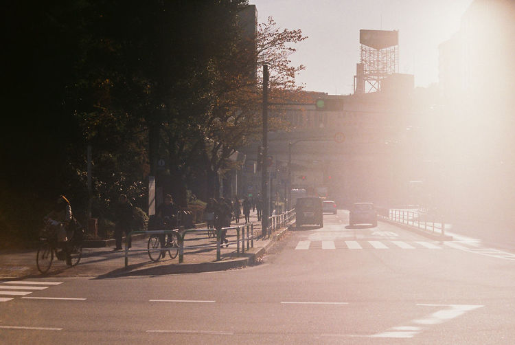 Architecture Bicycle Building Building Exterior Built Structure City City Life Day Empty Land Vehicle Mode Of Transportation Nature Outdoors People Plant Road Street Sunlight Transportation Tree EyeEmNewHere