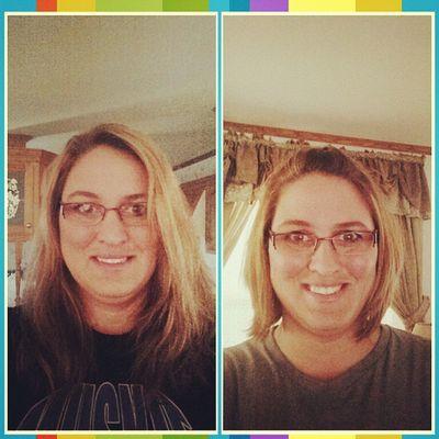 New hair cut.