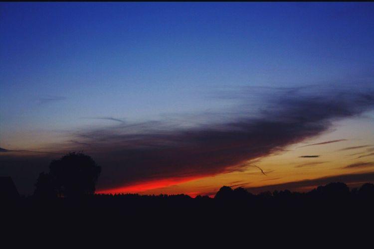 Weirdsunset Beautiful Sunset Sunset