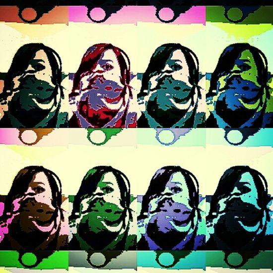 Warhol Aksitutupmuka Me Me Me