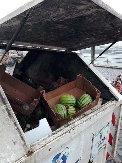 St.-Pauli-Fischmarkt Hamburger Hafen St.-Pauli-Fischmarkt St.-Pauli Hamburg Altona Fischmarkt Hamburg Fischmarkt Nahrungsmittelverlust Lebensmittel Im Müll Lebensmittelmüll Lebensmittelverschwendung Outdoors Day