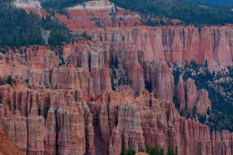 the overwhelming Bryce Canyon Rock Rock - Object Non-urban Scene Nature Beauty In Nature Travel Destinations No People Scenics - Nature Tranquility Tranquil Scene Outdoors Eroded Formation Bryce Canyon Utah National Park Rock Formation Canyon Travel Solid Physical Geography Geology Tourism Idyllic Layered
