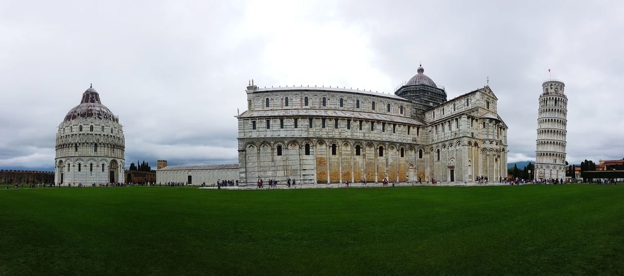 Architecture Travel Destinations Built Structure Cloud - Sky Campodeimiracoli Pisa Italy❤️