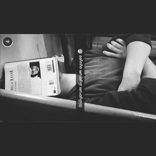 Kinyas Ve Kayra Hakangünday Sleeping Blackandwhite Sleeping With Book Book Relaxing