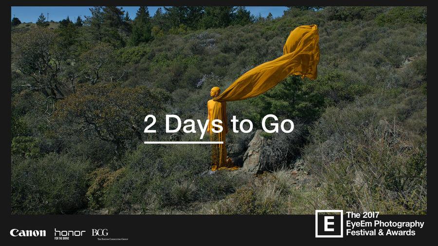 It's getting closer: Only *two* more sleeps until #EyeEmFestival17 gets underway! 💛
