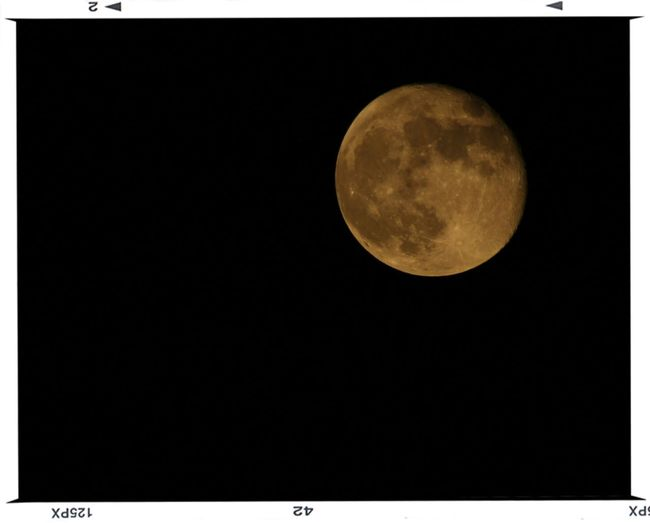 Moon Full Moon Srinagar Kashmir Aligraphy .
