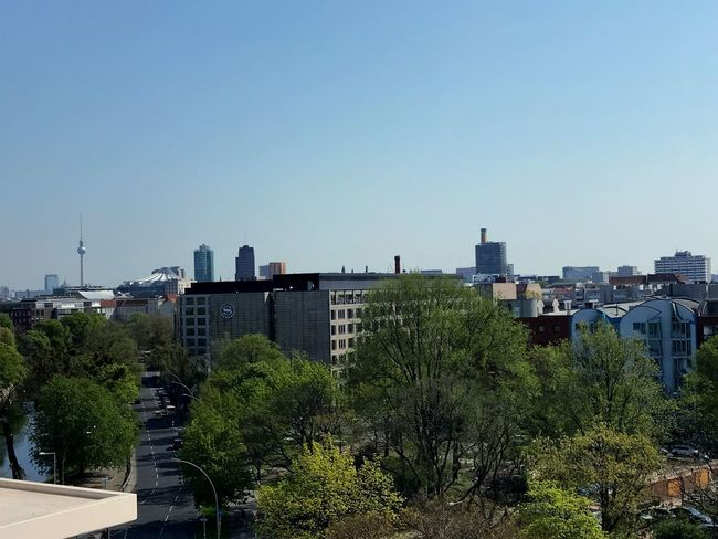 Toller Blick View Berliner Ansichten Berlin Built Structure Architecture Building Exterior Sky Building Plant Tree Outdoors Office Building Exterior Day Clear Sky City