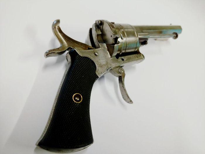 Old Revolver Pistol Gun Antique Selective Focus From My Point Of View White Background Steel Engraved Moto X Showcase: December Wasiak