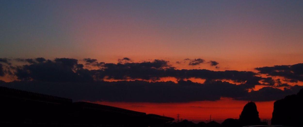 夕方 Olympus オリンパス Blue Sky 空 寒い