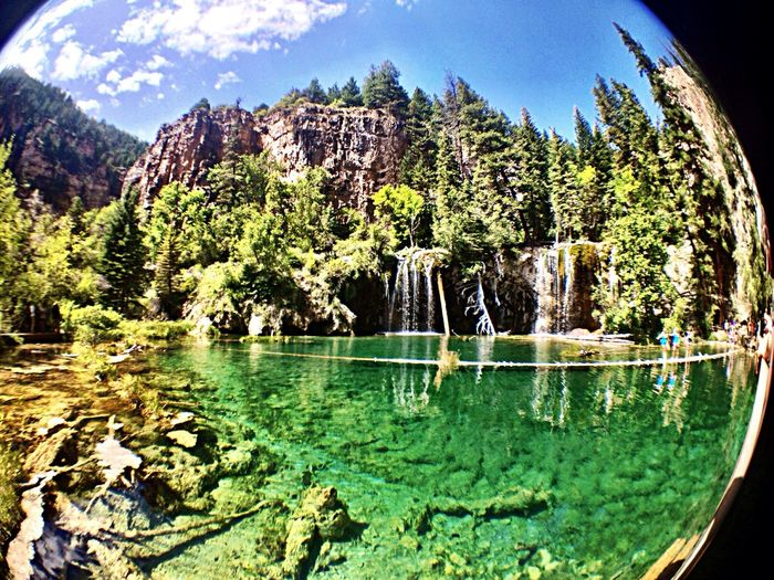 Hanging Lake, Glenwood Springs, Colorado, U.S.A. Glenwood Springs Hiking Lake Weekend