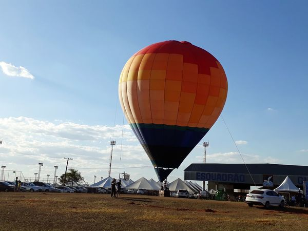 Hot Air Balloon Air Vehicle Astronomy Flying Sky Landscape