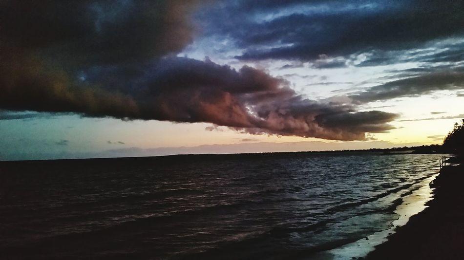 Clouds Sunset Beach